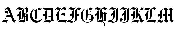 UVN Co Dien Font UPPERCASE