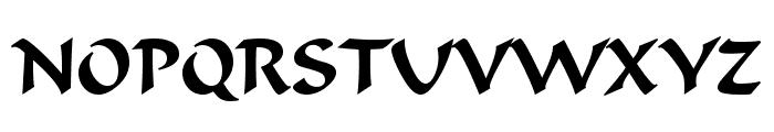 UVN Dung Dan Font UPPERCASE