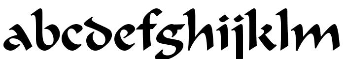 UVN Dung Dan Font LOWERCASE