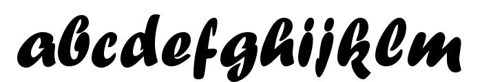 UVN Dzung Dakao Font LOWERCASE