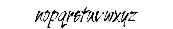 UVN Muc Cham Font LOWERCASE