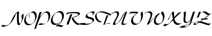UVN Thu Tu Font UPPERCASE