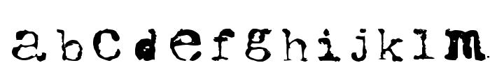 UWJack8 Font LOWERCASE