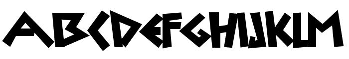 Uylus Font UPPERCASE