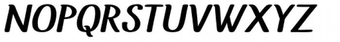 Uyuni Bold Italic Font UPPERCASE