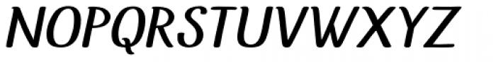 Uyuni Italic Font UPPERCASE