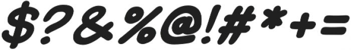 Uzurpator Bold Italic otf (700) Font OTHER CHARS