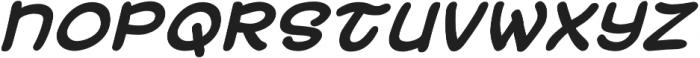 Uzurpator Bold Italic otf (700) Font LOWERCASE