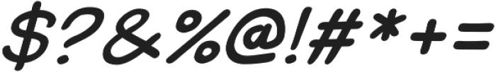Uzurpator Italic otf (400) Font OTHER CHARS