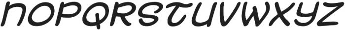 Uzurpator Italic otf (400) Font LOWERCASE