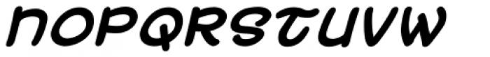 Uzurpator Bold Italic Font UPPERCASE