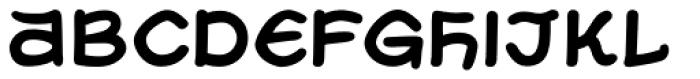 Uzurpator Bold Font LOWERCASE