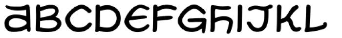 Uzurpator Font LOWERCASE