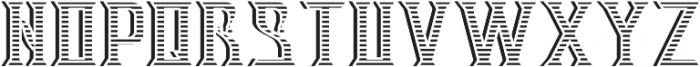 V_Bourbon TextureAndShadowFX otf (400) Font UPPERCASE