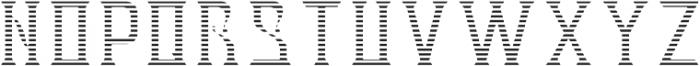 V_Bourbon TextureFX otf (400) Font UPPERCASE