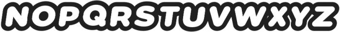 Vacaciones Italic otf (400) Font UPPERCASE