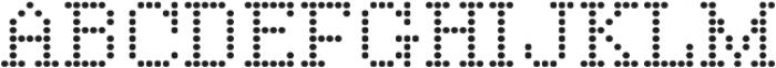 Vactic Regular otf (400) Font UPPERCASE