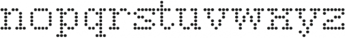 Vactic Regular otf (400) Font LOWERCASE