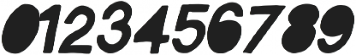 Vagabond  Italic ttf (400) Font OTHER CHARS