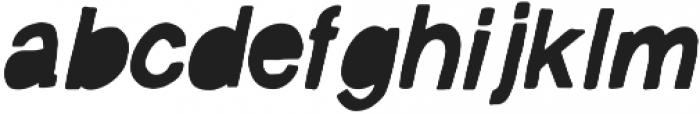 Vagabond  Italic ttf (400) Font LOWERCASE