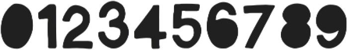 Vagabond  Regular otf (400) Font OTHER CHARS