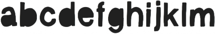 Vagabond  Regular otf (400) Font LOWERCASE