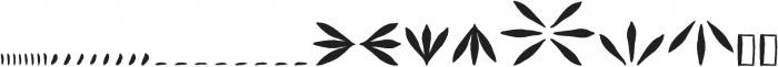 Vagabundo Ornaments otf (400) Font LOWERCASE