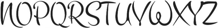 Vakia otf (400) Font UPPERCASE