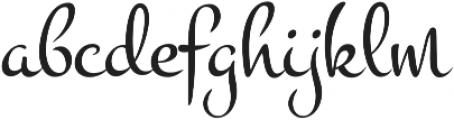 Vakia otf (400) Font LOWERCASE