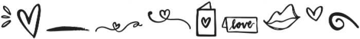Valentine Symbol Font Symbols otf (400) Font OTHER CHARS