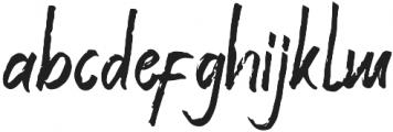 Valeriana ttf (400) Font LOWERCASE
