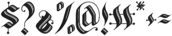 Valldemar otf (400) Font OTHER CHARS
