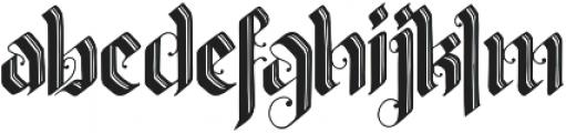 Valldemar otf (400) Font LOWERCASE