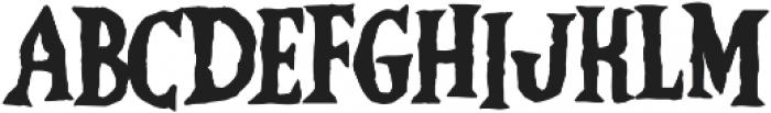 Vampliers otf (400) Font LOWERCASE