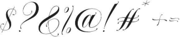 VanKieu otf (400) Font OTHER CHARS