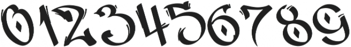 Vandal Display otf (400) Font OTHER CHARS