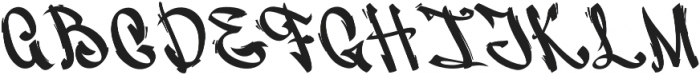Vandal Display otf (400) Font UPPERCASE