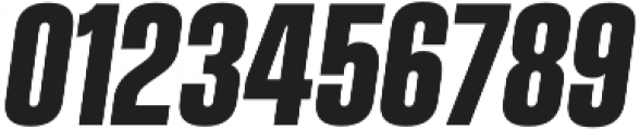 Vanguard CF Bold Oblique otf (700) Font OTHER CHARS