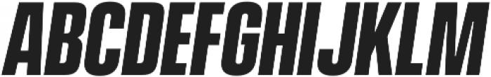 Vanguard CF Bold Oblique otf (700) Font LOWERCASE