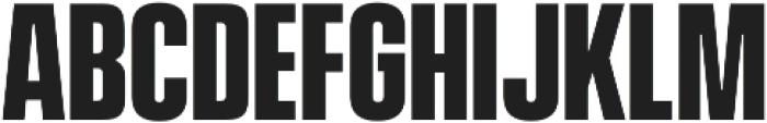 Vanguard CF Bold otf (700) Font UPPERCASE
