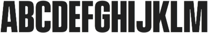Vanguard CF Bold otf (700) Font LOWERCASE