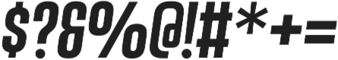 Vanguard CF Demi Bold Oblique otf (600) Font OTHER CHARS