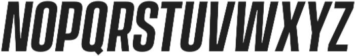 Vanguard CF Demi Bold Oblique otf (600) Font UPPERCASE