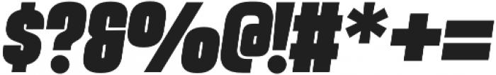 Vanguard CF Heavy Oblique otf (800) Font OTHER CHARS