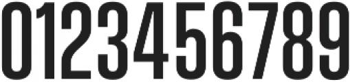 Vanguard CF Medium otf (500) Font OTHER CHARS