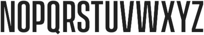 Vanguard CF Medium otf (500) Font UPPERCASE