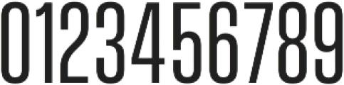Vanguard CF otf (400) Font OTHER CHARS