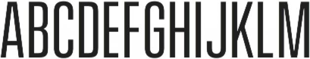 Vanguard CF otf (400) Font UPPERCASE