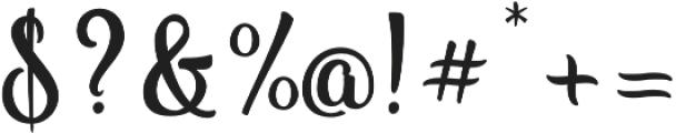 Vanilla Daisy Pro otf (400) Font OTHER CHARS