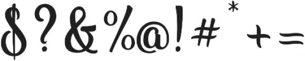 Vanilla Daisy SS 00 ttf (400) Font OTHER CHARS